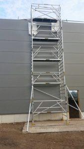 topway-Steiger werkhoogte 12meter
